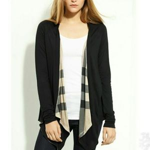 Burberry reversible cardigan